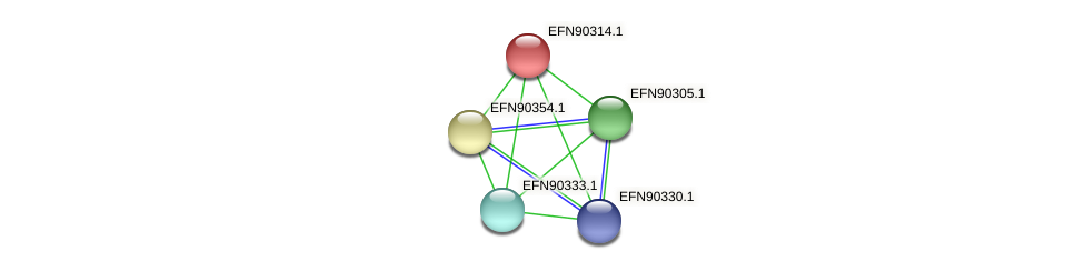 HMPREF9018_1920 protein (Prevotella amnii) - STRING interaction network