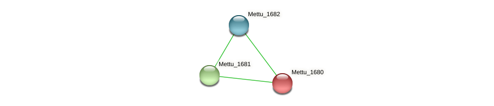 Mettu_1680 protein (Methylobacter tundripaludum) - STRING interaction network