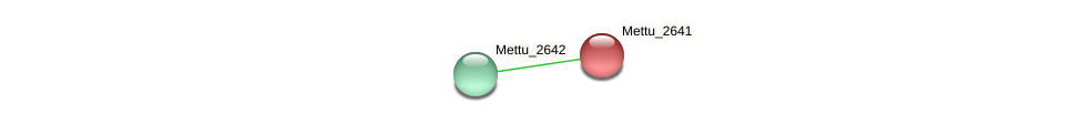 Mettu_2641 protein (Methylobacter tundripaludum) - STRING interaction network