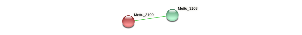 Mettu_3109 protein (Methylobacter tundripaludum) - STRING interaction network