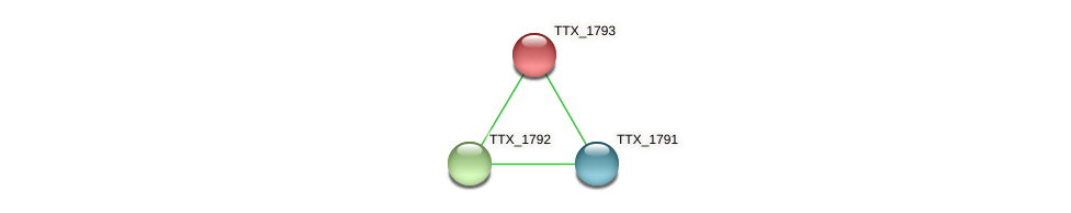 TTX_1793 protein (Thermoproteus tenax) - STRING interaction network