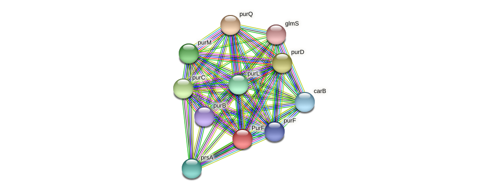 TTX_1961 protein (Thermoproteus tenax) - STRING interaction network
