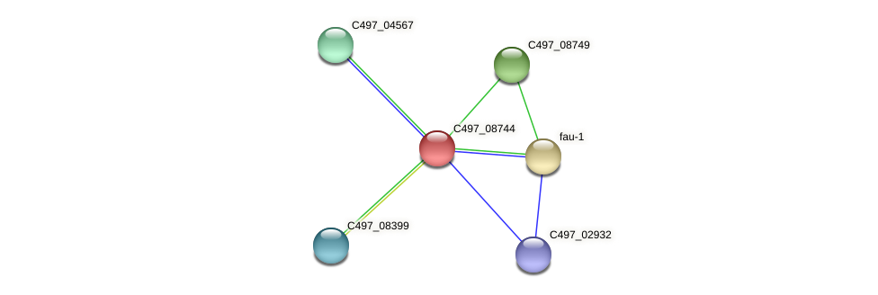 C497_08744 protein (Halalkalicoccus jeotgali) - STRING interaction network