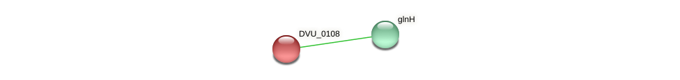 DVU_0108 protein (Desulfovibrio vulgaris Hildenborough) - STRING interaction network