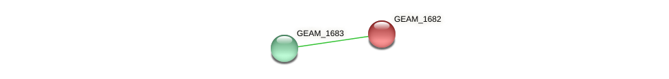 GEAM_1682 protein (Ewingella americana) - STRING interaction network